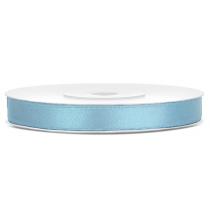 Ruban 6mm Satin Bleu Pastel 25m
