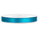 Ruban Satin Bleu Turquoise 25m