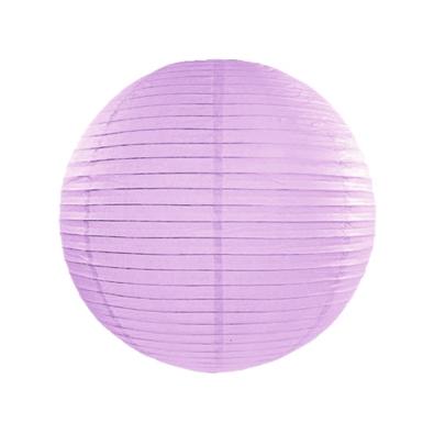 Boule de Papier Parme Violet Lanterne 20 cm