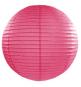 Boule de Papier Rose Lanterne 25 cm