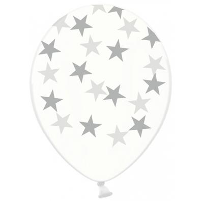 Ballons latex avec étoiles