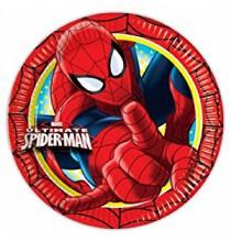 Petites Assiettes Spiderman Ultimate Anniversaire
