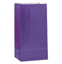 Sachet Papier Violet Cadeaux aux Invités