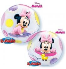 Ballon Bubble Baby Minnie Disney Baby de fête