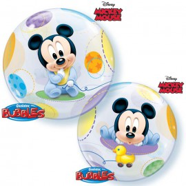 Ballon Bubble Baby Mickey Disney Baby de fête