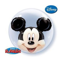 Ballon Double Bubble Mickey Mouse Disney