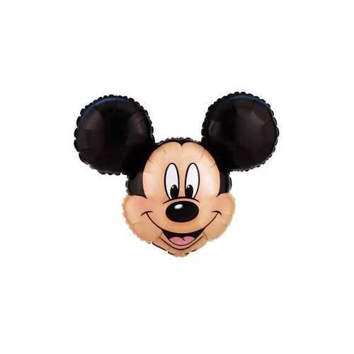 Ballon Alu Géant Tête de Mickey Mouse Disney