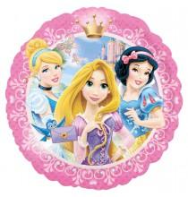 Ballon Mini Gonflé Disney Coeur Anniversaire Princesse
