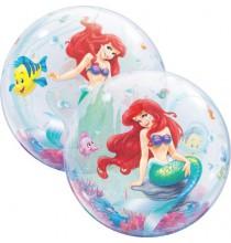 Ballon Bubble Ariel Disney Décoration Anniversaire Thème Petite Sirène