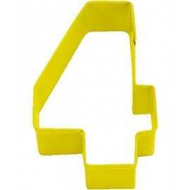 Emporte-Pièce Biscuit Chiffre 4 Quatre
