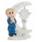 Figurine Garçon En Prière Première Communion