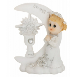 Figurine Fille En Prière Première Communion