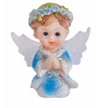 Figurine Petit Garçon Ange En Prière Première Communion