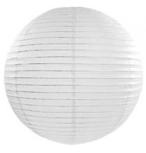 Boule de Papier blanc Lanterne 25cm