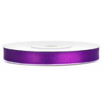 Ruban 6mm Satin Violet 25m