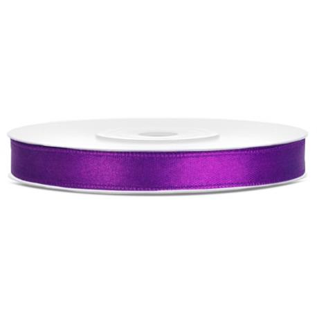 Ruban 6mm Satin Violet 25m