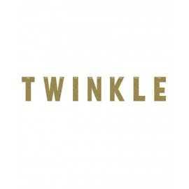 Banderole Twinkle Glitter Doré Décoration Little Star Etoiles rose et doré