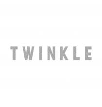 Banderole TWINKLE Gltter Argent Décoration Little Star Etoiles