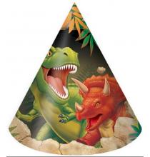 Chapeau de fête Dinosaure Tyrannosaure Anniversaire pour Enfant