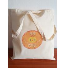 Tote Bag Papa Poule