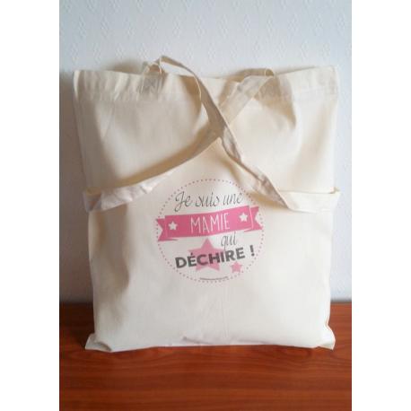 Tote Bag Mamie Qui Déchire