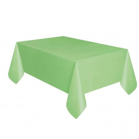 Nappe Plastique Vert Pastel Pomme Lavable