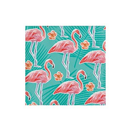 Serviettes Cocktail Thème Flamingo Party Flamant Rose