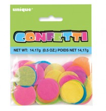 Confettis Ronds Mix Couleurs Papier de soie