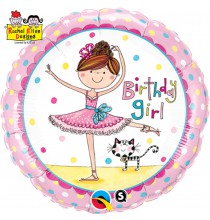 Ballon Anniversaire Danseuse Etoile