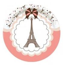 Serviettes en Papier Tour Eiffel Thème Paris
