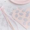 Confettis Diadème Glitter Argent Princesse
