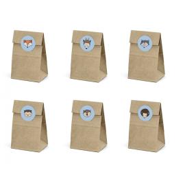 6 Boîtes Cadeaux Anniversaire Rusé comme un renard