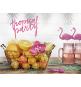 6 Orchidées Décoration en Papier Flamingo Sweet Table