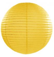 Grande Boule de Papier Jaune pâle Lanterne 35 cm