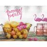 Cake Topper Grand Pique Tropical Party Gâteau Flamant Rose Flamingo Sweet Table en papier