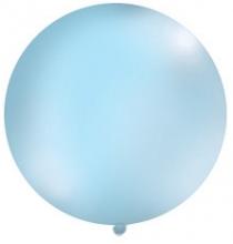 Grand ballon XXL Rond Premium bleu clair 100cm - à l'unité