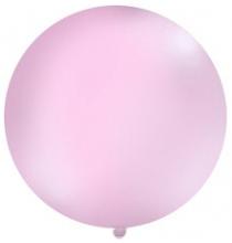 Grand ballon XXL Rond Premium rose clair 100cm - à l'unité