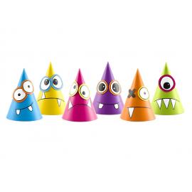 Chapeaux Petits Monstres Anniversaire pour Enfant