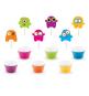 Kit Cup Cakes Petits Monstres Anniversaire pour Enfant