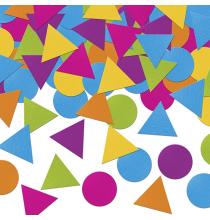 Confettis Triangles et Ronds - Anniversaire petits monstres