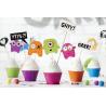 Piques pour Gâteau Petits Monstres Anniversaire pour Enfant