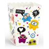 Boîtes à Pop Corn - Petits Monstres Anniversaire pour Enfant