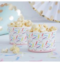 Pots de Présentation Confettis Colorés  Party Anniversaire Enfant