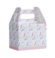 Boîtes Cadeaux Invités Confettis Colorés Party Anniversaire Enfant