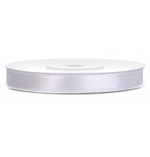 Ruban Satin Blanc 6mm