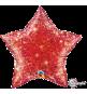 Ballon Etoile Rouge Holographique Ultra Brillant