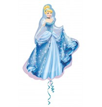 Ballon Géant Cendrillon Princesse Disney XXL