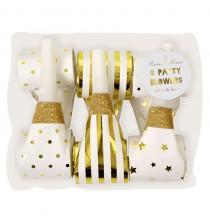 Confettis étoiles jaune doré Décoration de fête