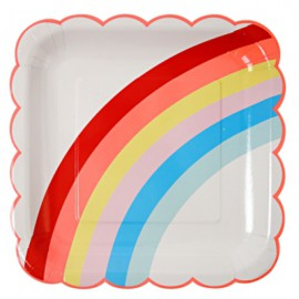 12 Gobelets Arc-en-ciel Premium Collection Rainbow Party