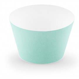 Boule de Papier Vert Pastel Mint Menthe Lanterne 25 cm